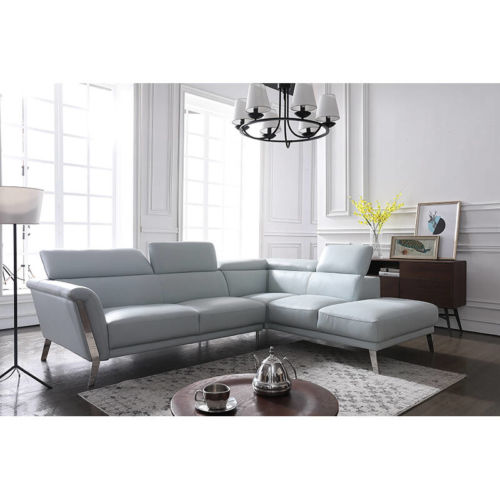 Modern Leather Recliner Couch